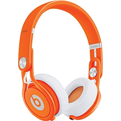 Beats by Dr. Dre Mixr High Volume Noise Isolating Lightweight DJ Headphones with Swiveling Ear Cups (Orange)