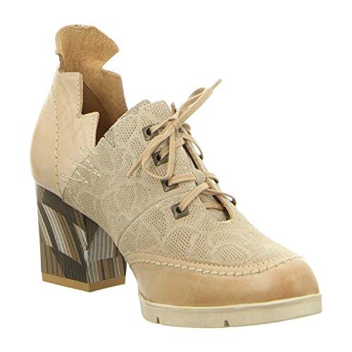 Maciejka 02861-04/00-5 - Zapatos de cordones de Piel para mujer bez