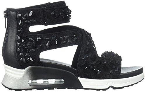 Ash Women's As-Lips Stones Sneaker Black/Black yYJR36idi