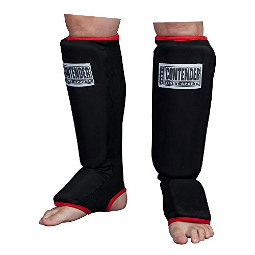Contender Fight Sports MMA Slip On Shin Instep Guards (Large)