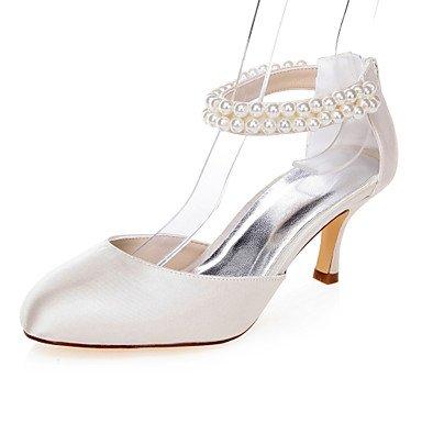 Zormey Women'S Heels Spring Summer Fall Comfort Fabric Wedding Party &Amp; Evening Dress Stiletto Heel Pearl Champagne Us9 / Eu40 / Uk7 / Cn41 US9.5-10 / EU41 / UK7.5-8 / CN42