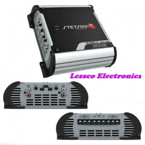 Stetsom HL800.4-2 Ohms Car Audio High Line Amplifier 4 Channels Amp HL800 900W