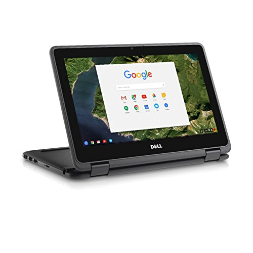 Dell Chromebook 3189 Celeron 11.6 inch IPS eMMC Convertible Black