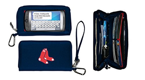 Boston Red Sox Credit Card (MLB Boston Red Sox Deluxe Touch Wallet - by Little Earth)
