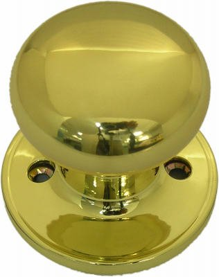- TAIWAN FU HSING INDUSTRIAL TF740 TG Polished Brass Mushroom Dummy Knob