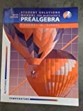 Student Solutions Manual for Mckeague's Prealgebra, 5th, MCKEAGUE, 0534464076