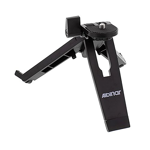 Albinar Mobile Phone Tablet eBook holder Stand and Tripod with 1/4