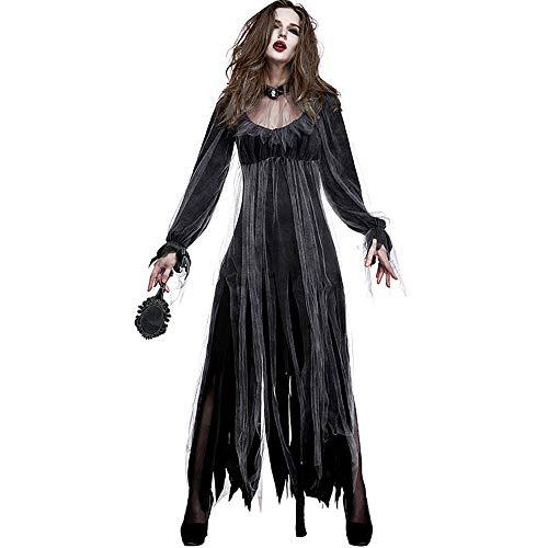 Beautydress Halloween Zombie Bride Costume Ghost Corpse Bride Dress for Adult Women -