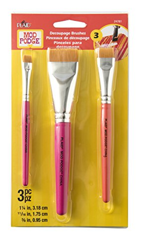 Mod Podge 24781 Furniture Brush Set - 3 brush set by Mod Podge