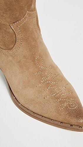 Caramel Suede Golden Ava Edelman Women's Sam Ankle Boot w8xq74x1Y