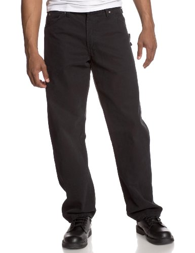 Dickies Men's Sanded Duck Carpenter Jean, Timber, 38x32