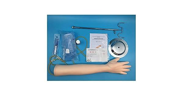 CX ECO IV Práctica Brazo del Brazo Tren Arm/flebotomía y Ejercicios de venopunción Arm Ejercicio médico Práctica Juego de inyección Diseñado para Entrenamiento: Amazon.es: Hogar