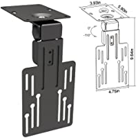 Cmple - Ceiling Cabinet Mount for 13-23 LED, LSD, PLASMA TVs with Swiveling and Folding mechanism