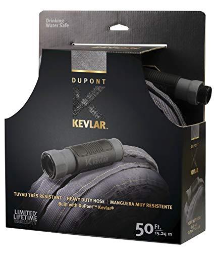 DuPont KV82001 Kevlar 50' Heavy Duty Fabric Hose, Black