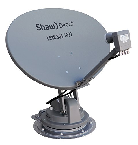 Winegard SK-7003 TRAV'LER Shaw Direct RV Satellite TV Antenna (Stationary, Roof Mount,  Multi-Satellite, Multi-TV, Fully Automatic) - Mount Only, Requires SKA-733 Reflector Kit by Winegard