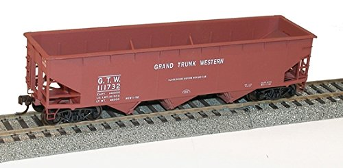 Ho AAR 70-Ton Offset-Side 3-Bay Hopper Kit, Grand Trunk Western ()