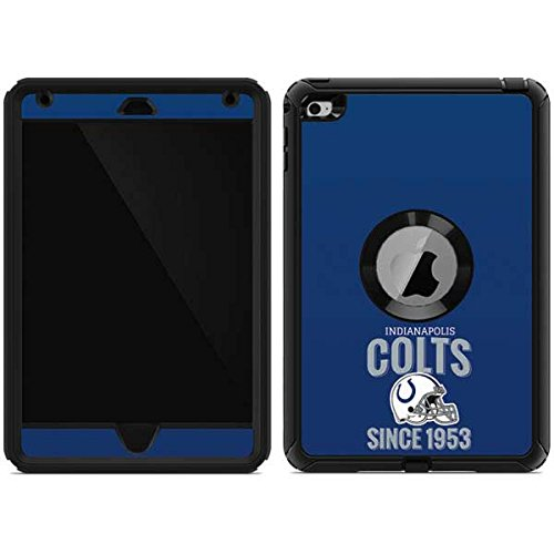- Skinit Indianapolis Colts Helmet OtterBox Defender iPad Mini 4 Skin for CASE - Officially Licensed NFL Skin for Popular Cases Decal - Ultra Thin, Lightweight Vinyl Decal Protection