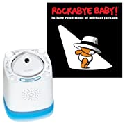 Munchkin Nursery Sound Projector with Rockabye Baby Lullaby Renditions, Michael Jackson