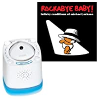 Munchkin Nursery Sound Projector with Rockabye Baby Lullaby Renditions, Micha...