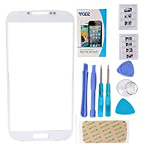 YGDZ Premium Screen Glass Lens Replacement & Repair Kit (Glass only - digitizer not included) For Samsung Galaxy S4 I9500 i337 L720 M919 i545 - White (SHIP FROM CA)