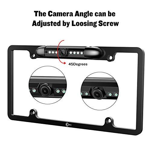 License Esky Rear View Camera 170° Car 7 LED