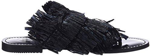 Gioseppo 44720, Sandales Bout Ouvert Femme Noir (Black)