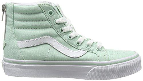 Vans Sk8-Hi Zip - Zapatillas Unisex Niños Verde (gossamer Green/true White)