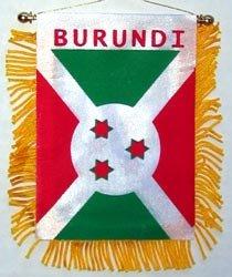 Burundi - Window Hanging Flag