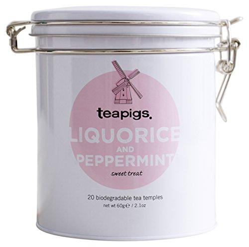 (teapigs Liquorice & Peppermint Tin, 2.1 Ounce)