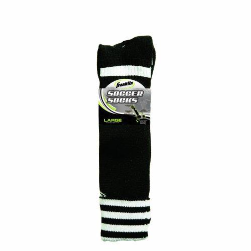 Franklin Sports ACD Soccer Socks (Black/Youth Medium) by Franklin Sports