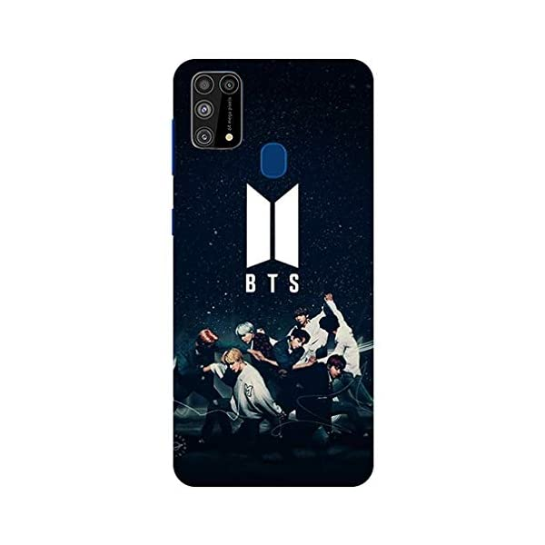 Coverwrap® Designer BTS Bangtan Printed Design Back Case Mobile Cover for Samsung Galaxy M30s/Samsung Galaxy M21/Samsung… 2021 July Printed Designer Snug fit Back Cover Samsung Galaxy M30s/Samsung Galaxy M21/Samsung Galaxy M31 Easy to put and take perfect cutouts for Volum buttons audio and charging ports. Coverwrap Printed Designer Back Cover Case , Stylish design and appearance, express your unique personality.