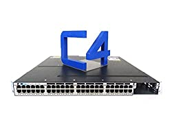 Cisco WS-C3750X-48PF-E Catalyst 3750-X Ethernet Switch - 48 Ports - 48 x POE - 10/100/1000Base-T - PoE Ports