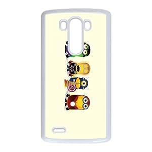 LG G3 Cell Phone Case White Avengers ckt