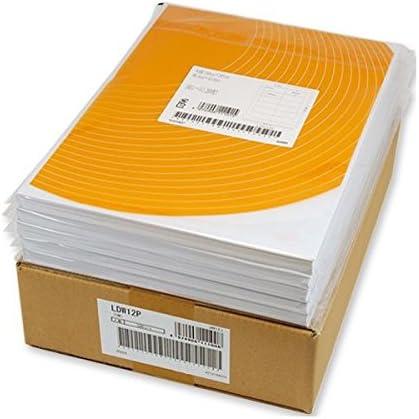 (まとめ) 東洋印刷 ナナワード シートカットラベル マルチタイプ A4 24面 66×33.9mm 四辺余白付 LDW24UC 1箱(500シート:100シート×5冊) 〔×5セット〕