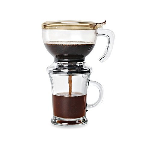 Zevro Incred-A-Brew Gravity Drip Coffee Infuser Cup 16-ounce