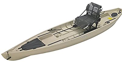 NuCanoe Pursuit 13.5' Shell Tan Fishing Kayak