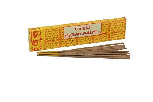 学者脅威カテナGoloka Nag Champa Incense Sticks by Goloka