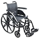 """Viper Wheelchair - 18"""" Full Arm, Footrests"""