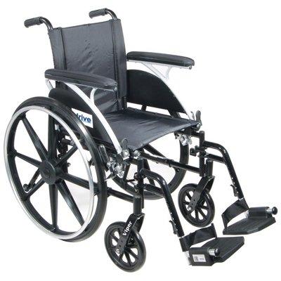 """Viper Wheelchair - 12"""" Desk Arm, Legrests"""