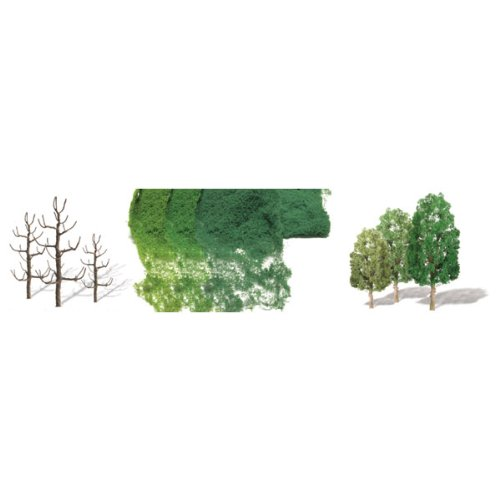 JTT Scenery Products Professional Series: Sycamore tree Kit, 2.5