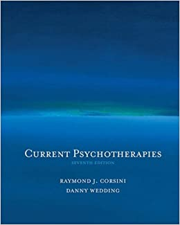 Book Current Psychotherapies (with InfoTrac)