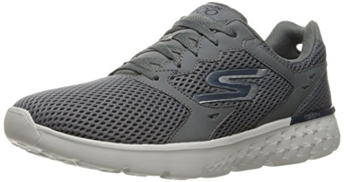Skechers Performance Men's Go Run 400 Running Shoe, Charcoal/Navy, 13 M US