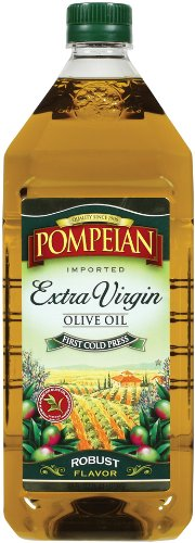 Pompeian Extra Virgin Olive Oil, 48-Ounces Bottle