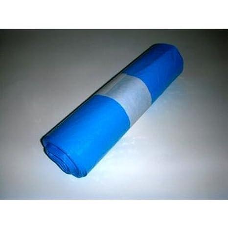 Pack 10 Bolsas Basura Azul 100L