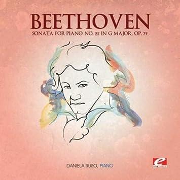 beethoven sonata in g major for piano solo