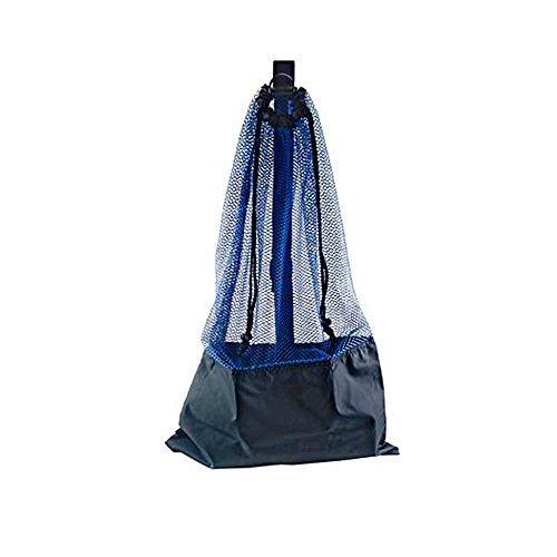 BLUE SNORKEL BAG! MESH DRAW STRING W/ SHOULDER ()