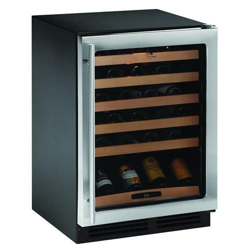 UPC 833790008402, U-Line U2175WCCS00 48 Bottle Single Zone Wine Refrigerator Lock, Stainless Steel