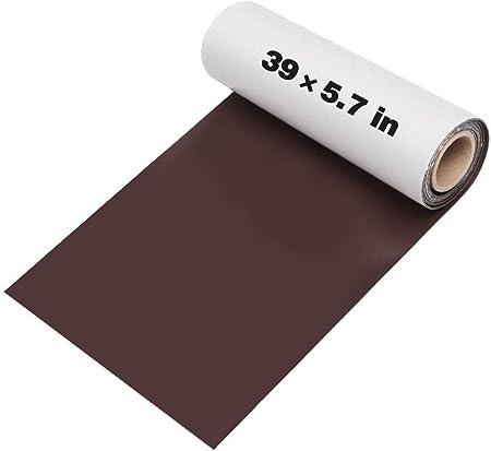 Kit de parches de piel autoadhesivos, 14,5 cm x 100 cm, juego de reparación de parches de cuero, juego de reparación para vinilo y piel sintética: Amazon.es: Hogar
