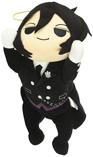 GE Animation Great Eastern GE-52867 Black Butler Sebastian Lying Down Stuffed Plush