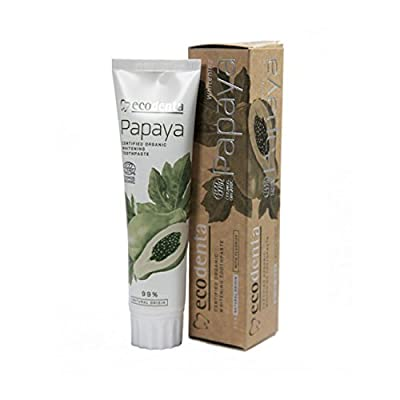 Ecodenta Organic Papaya Anti Plaque Toothpaste 100 ml